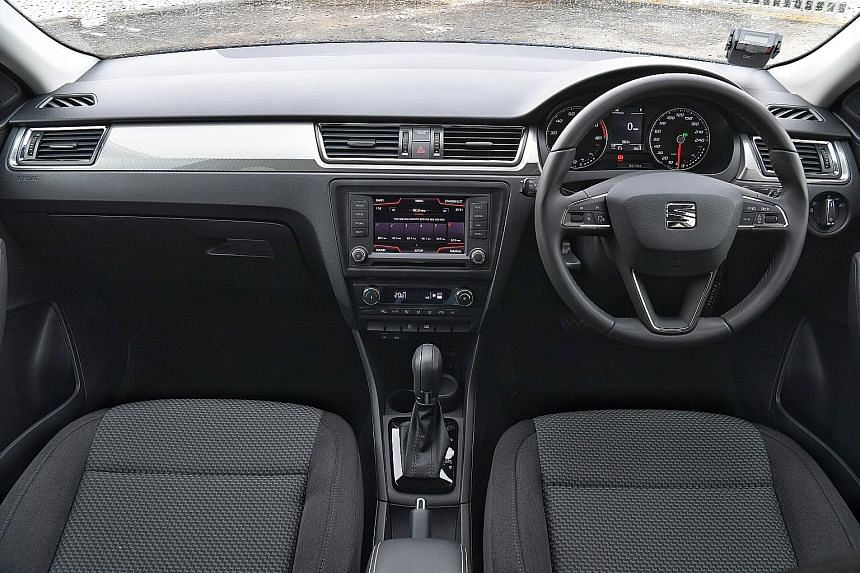 The cockpit is elegantly laid out and there are cup holders and USB charging ports for the rear passengers.
