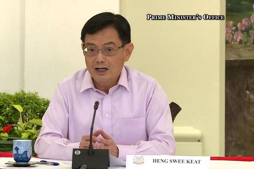 DPM Heng Swee Keat will continue to oversee the Strategy Group in the Prime Minister's Office.