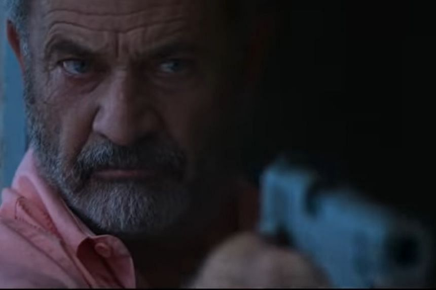 Mel Gibson in a screenshot from the 2020 movie Force Of Nature.