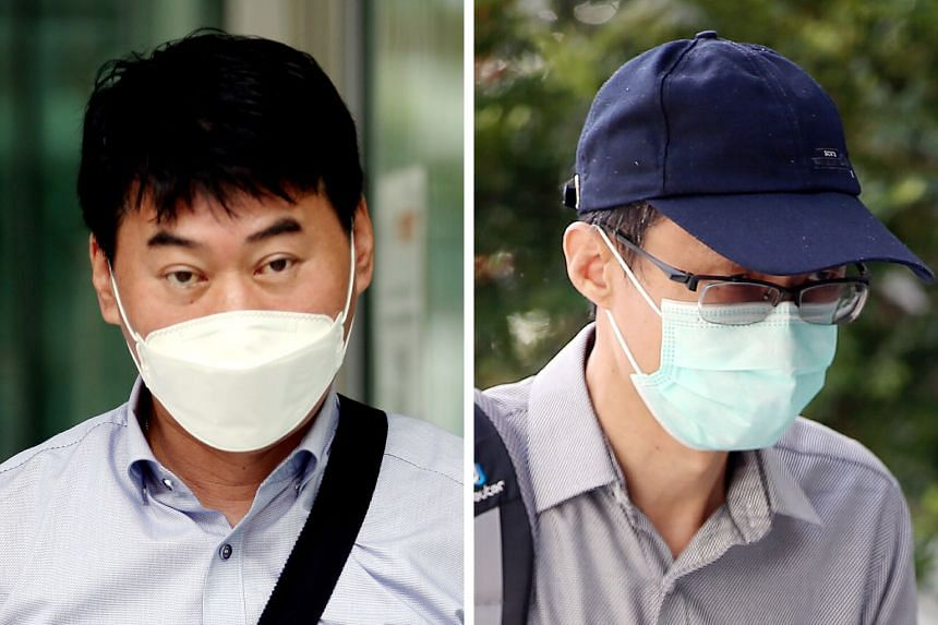 Singaporean Pek Lian Guan China national Cai Jungang Singaporean Pay Teow Heng Korean Ro Sung-young Korean Kim Young-gyu Singaporean Zhang Xihu Singaporean Chen Xuguang (left) was charged in relation to offences involving payments from China Railway