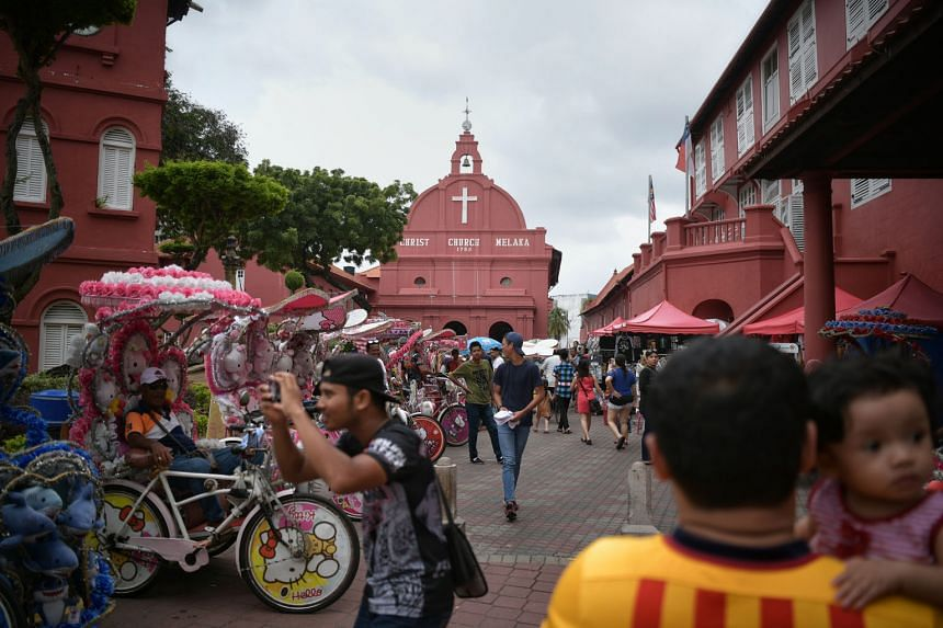 Travel requirements between Singapore and Malaysia will stay stringent, so short trips to popular Malaysian destinations like Melaka (above) are unlikely in the near future. ST FILE PHOTO