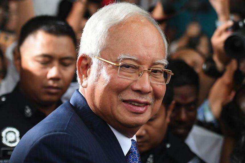 Najib is currently facing three separate, 1MDB-linked trials.