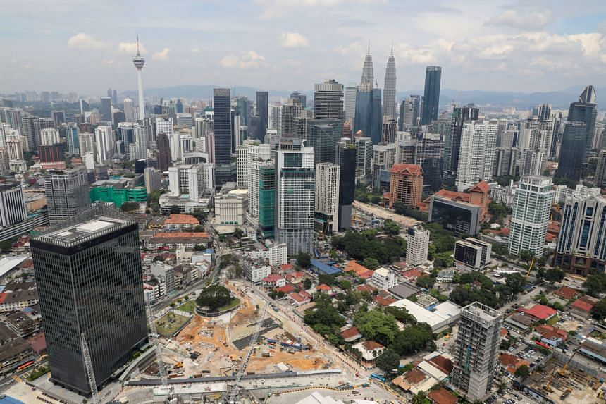 A view of the city skyline in Kuala Lumpur, on Oct 23, 2019.