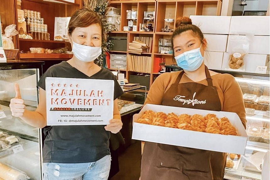 The Majulah Movement initiative has delivered meals to migrant workers at an offshore quarantine facility, as well as healthcare facilities.