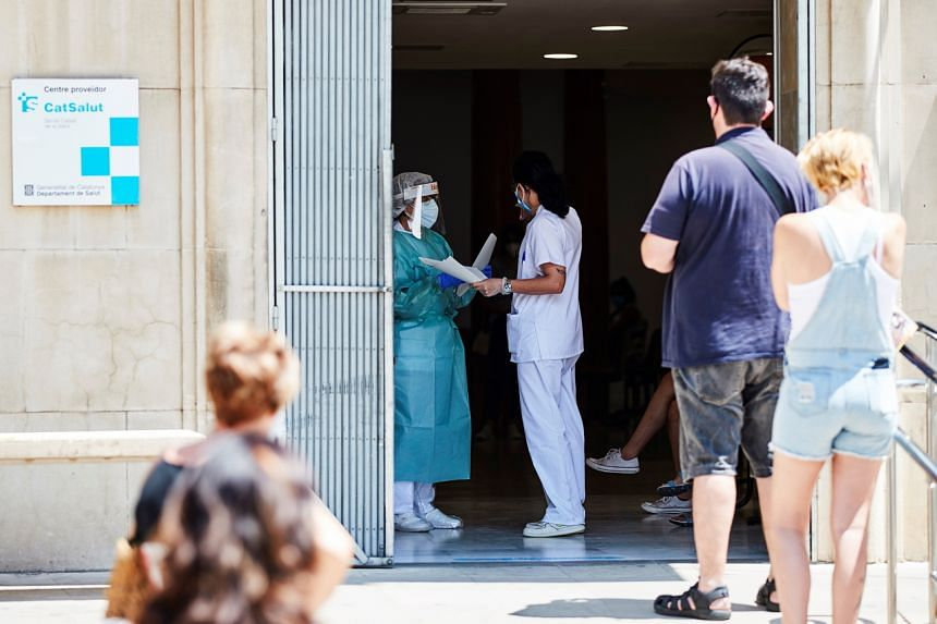 Spain's official death toll includes only people who were formally diagnosed with the novel coronavirus