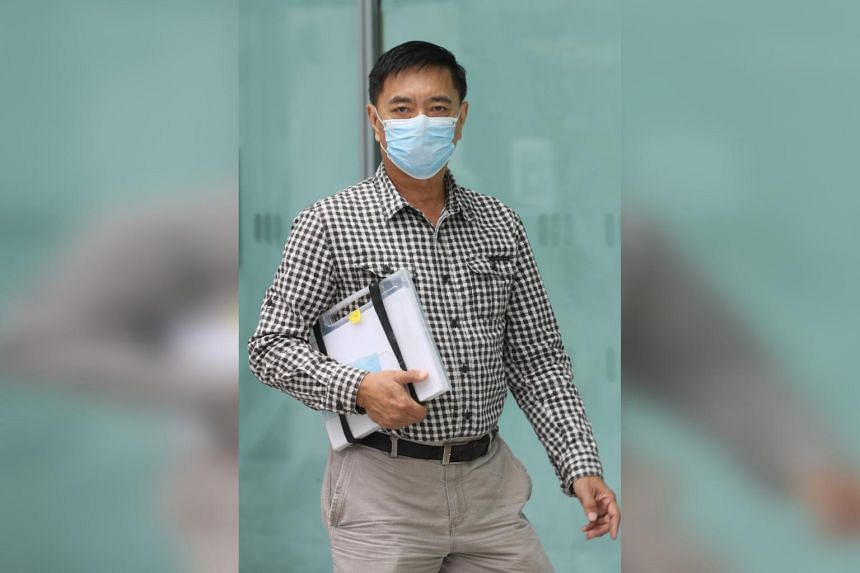 Ng Aik Leong better known as Huang Yiliang, claimed trial to a charge of voluntarily causing hurt.