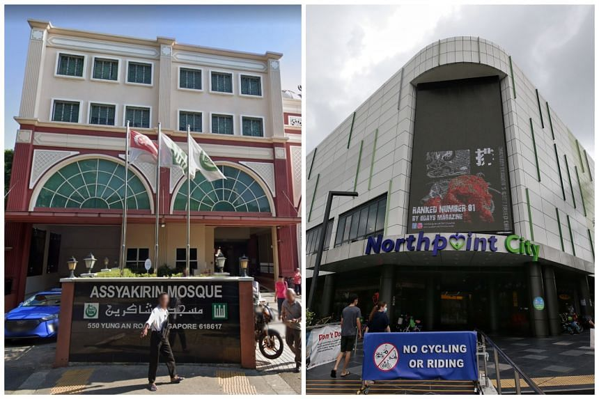 Assyakirin Mosque in Jurong West and Din Tai Fung at Northpoint City were among places visited by Covid-19 patients while they were still infectious.