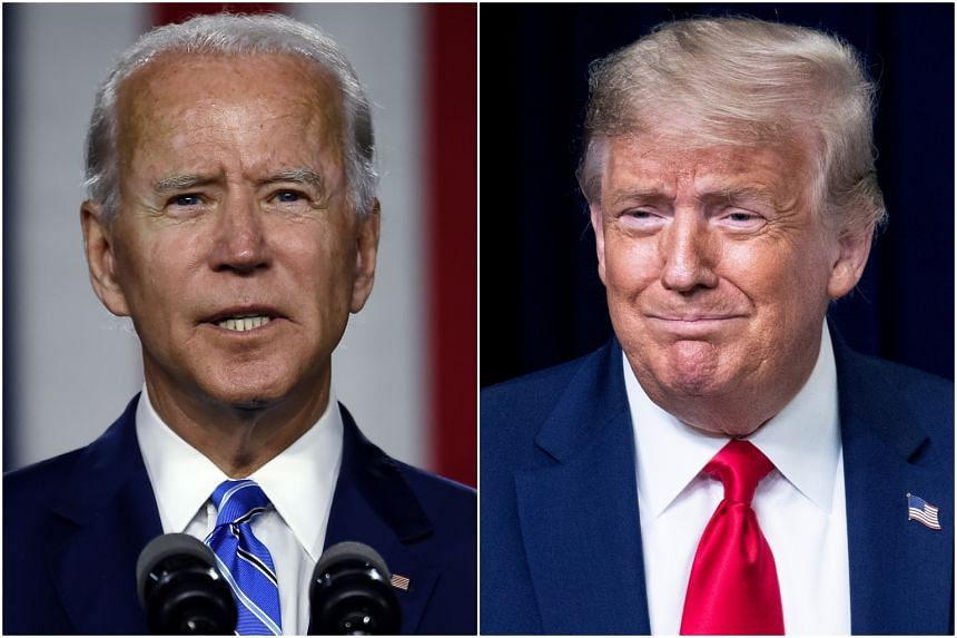 Some surveys have shown that when voters dislike both candidates, more are leaning towards Joe Biden.