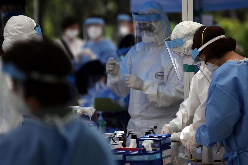 South Korea now has one of the lowest rates for infections with unknown origin, at about 8 per cent.