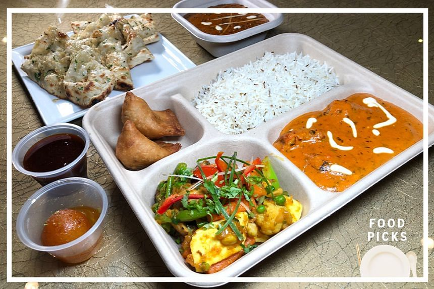 The Royal Feast is a delivery bento meal available from Shahi Maharani.