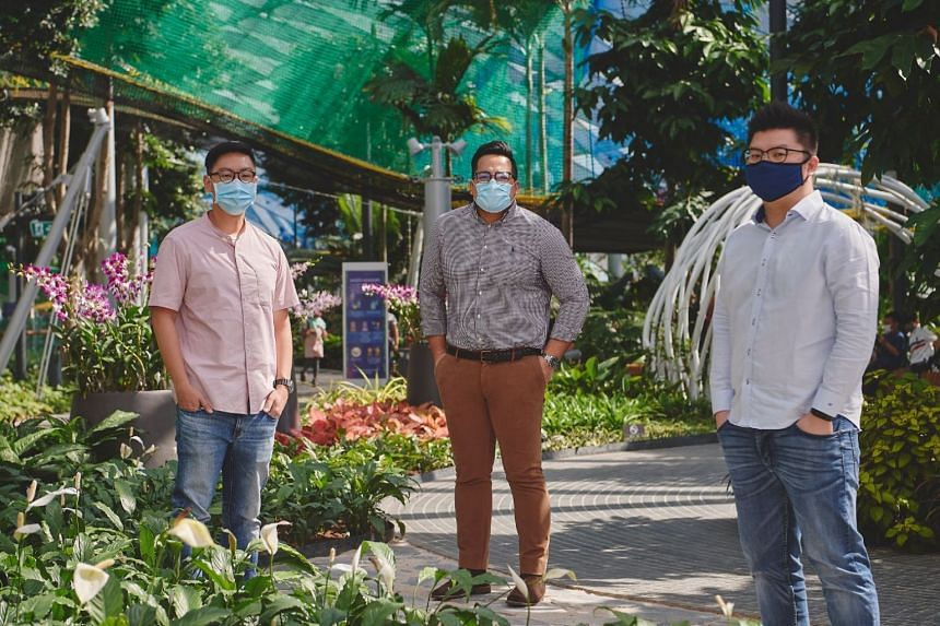 Canopy Park, Jewel Changi Airport, safe management measures