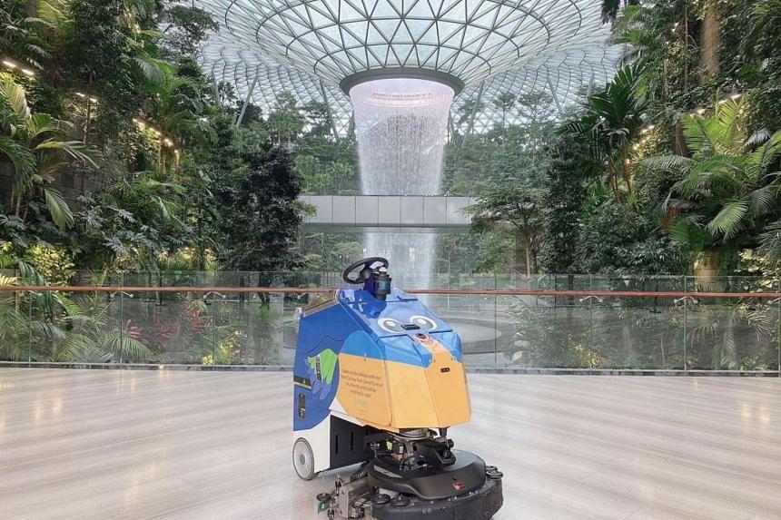 Rain Vortex, Jewel Changi Airport