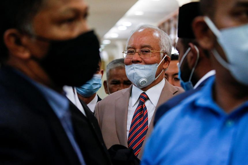 Najib Razak was found guilty of corruption and sentenced to 12 years in jail on Tuesday.