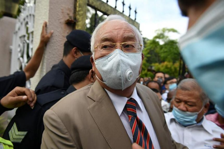 Najib Razak's total amount of bail paid across all his court cases has climbed up to a mammoth RM7 million.