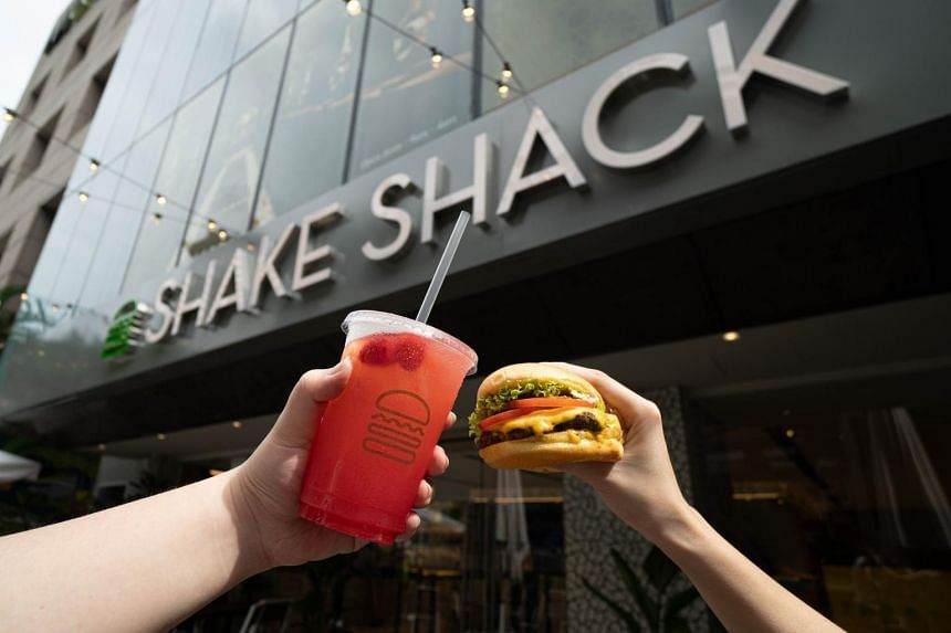 Shake Shack's new Liat Towers outlet will offer exclusive items such as lemonades introduced just for Singapore.