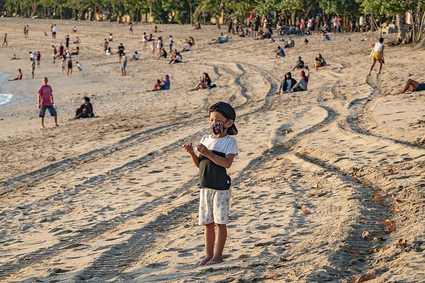 Bali, which closed tourism sites in late March, has gradually reopened them since July 9 for island residents as it tries to revive its badly-hit economy even as new cases of infections continue to rise. The resort hot spot has set a goal of welcomin