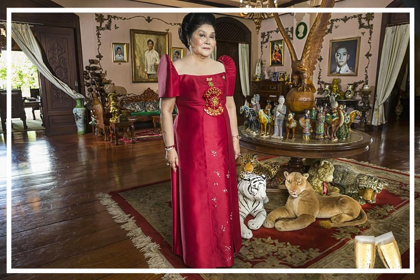 Former first lady of the Philippines Mrs Imelda Marcos is featured in the documentary The Kingmaker.