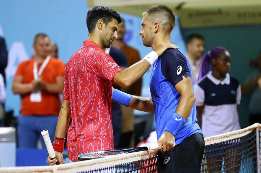 Borna Coric had suggested criticism from Nick Kyrgios was not credible.