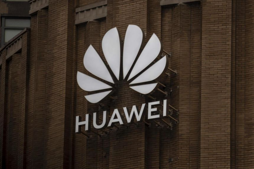 Huawei's newest flagship store building in Shanghai on July 16, 2020.