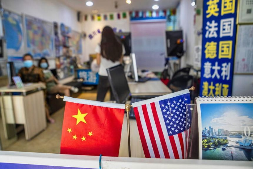 According to the Pew survey, around one in four describe China as an enemy of the US.