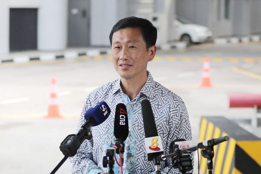 """Transport Minister Ong Ye Kung said the seaport and Changi Airport are akin to """"vital organs to the Singapore economic body""""."""