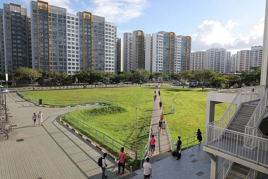 The new Sengkang Town Council, which will manage Sengkang GRC (above), and the 11 reconstituted town councils have to take over the management of transferred areas by Oct 28 but they can also mutually agree to an earlier date, said the ministry. The