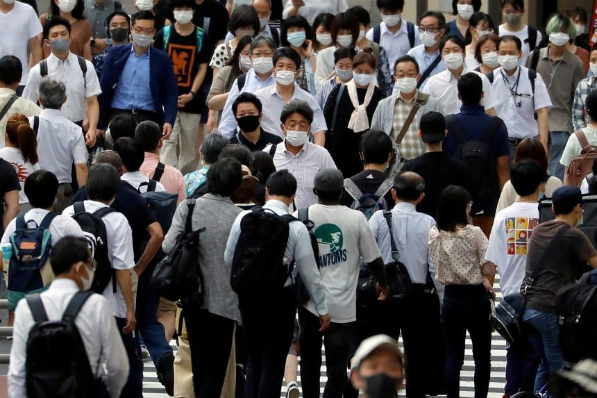 The number of daily new infections in Japan hit a new record on July 30, 2020.