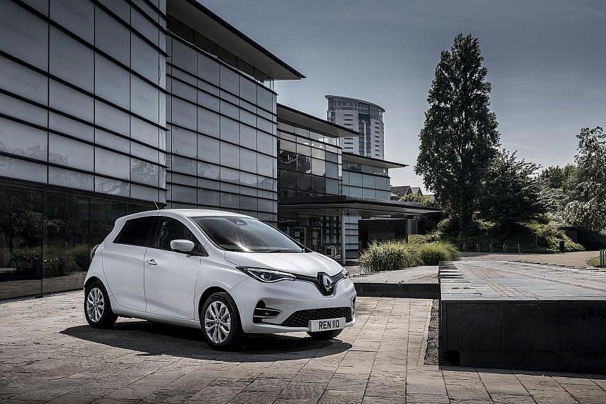 Renault unveils electric Zoe Van