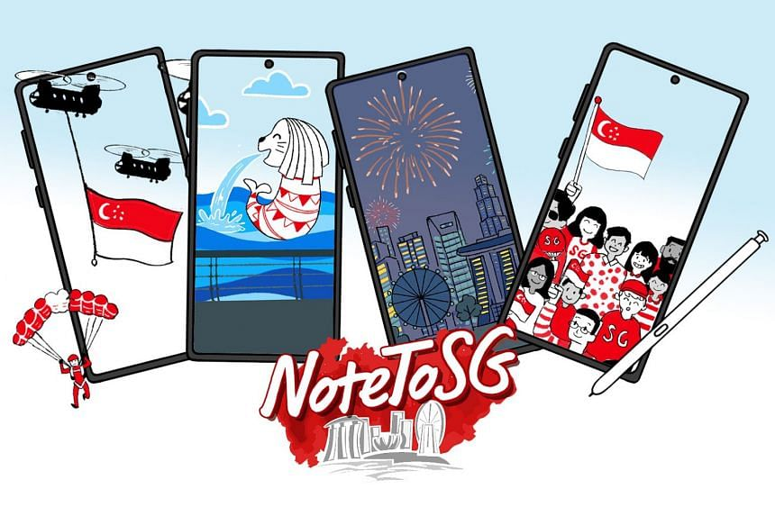 Readers can pick from these four National Day-inspired IG filters to create their personalised IG story and take part in the SPH X Samsung contest. The five most creative entries will each win a S$255 Samsung Experience Store voucher and a pair of Ga