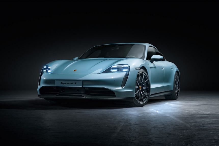 Electric Porsche Taycan available now