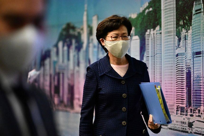 Hong Kong Chief Executive Carrie Lam said the decision was based on the objective development of the epidemic.