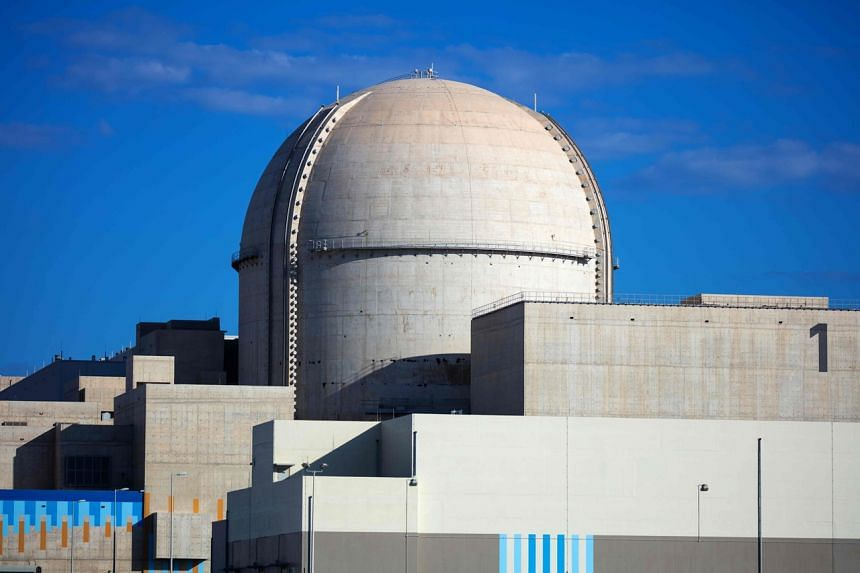 The new nuclear facility is the first of several prospective Middle East nuclear plants.