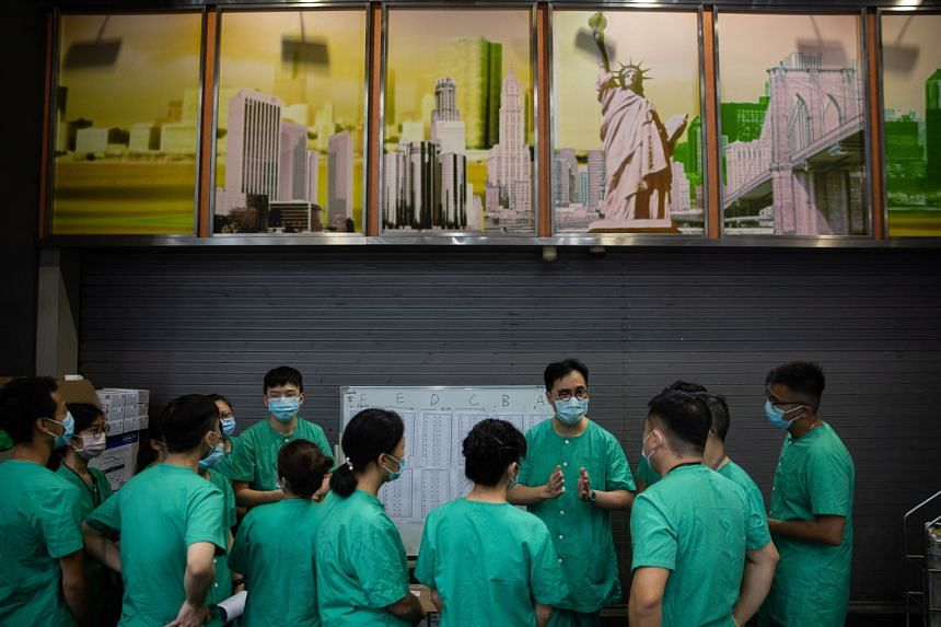 Hong Kong is racing to halt a third wave of Covid-19 but some local residents fear China may use this as an excuse to collect DNA samples for surveillance purposes.
