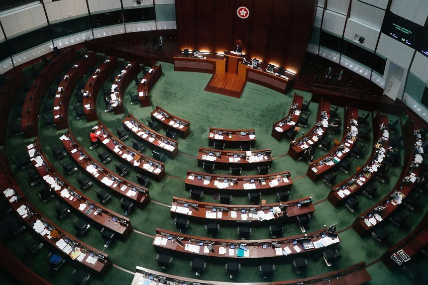Hong Kong leader Carrie Lam postponed the Sept 6 election by a year because of a rise in coronavirus cases.