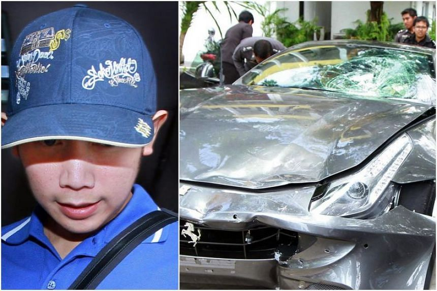 "Vorayuth ""Boss"" Yoovidhya was accused of crashing his Ferrari into a policeman and later fleeing the scene."