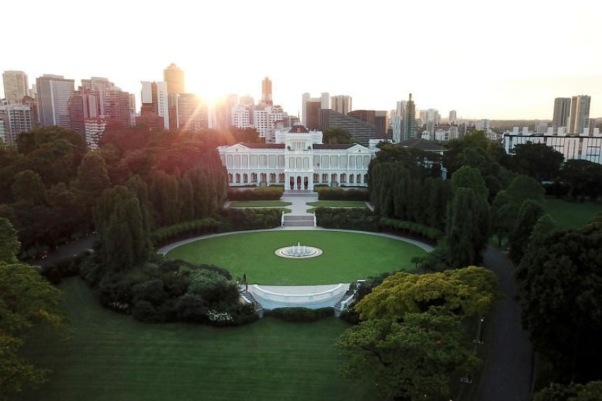 The Istana, as seen on Oct 18, 2019.