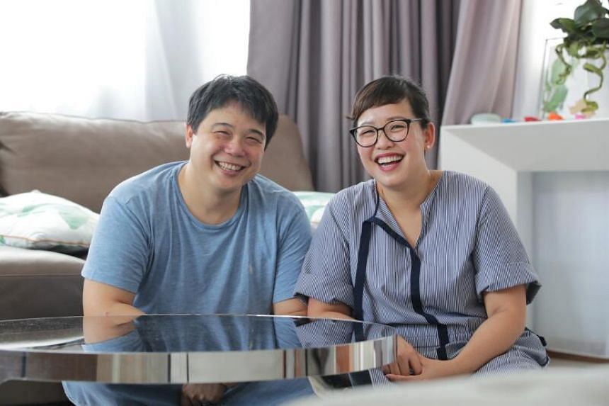 Mr Terrence Tan and his wife Lim Mui Khim are among the host families willing to house those in dire straits rent-free for up to one year.