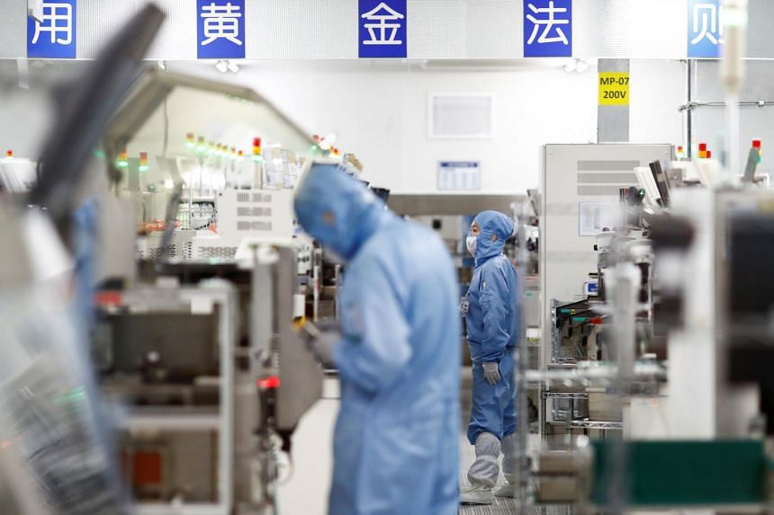 Manufacturing activity in China expanded at the fastest pace in nearly a decade as domestic demand improved.