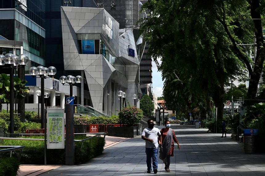 """Last year, the Government unveiled fresh plans to transform Orchard Road into a """"lifestyle destination""""."""