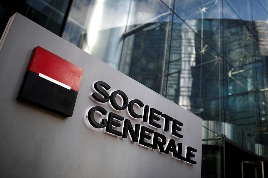 Societe Generale posted almost €1.33 billion in one-off costs following a review.