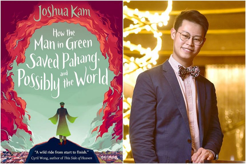 Book cover of How The Man In Green Saved Pahang, And Possibly The World by Joshua Kam.