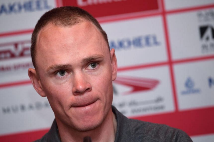 Chris Froome lost training time while recovering from a horrific crash last year.