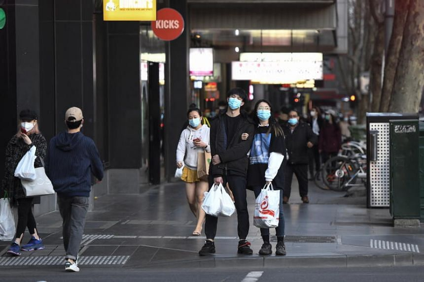 Melbourne residents will be under curfew between 8pm and 5am.