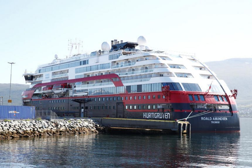 At least 40 passengers and crew from the MS Roald Amundsen cruise liner have so far tested positive for the coronavirus.