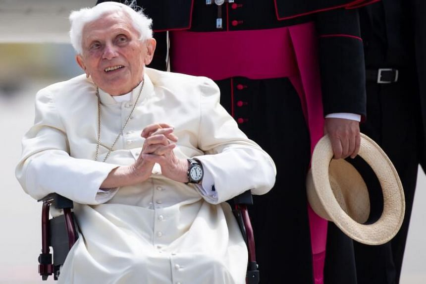 Former Pope Benedict XVI was reportedly suffering from shingles.