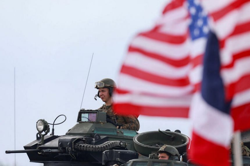 Some 106 American soldiers will join three separate exercises in three provinces.