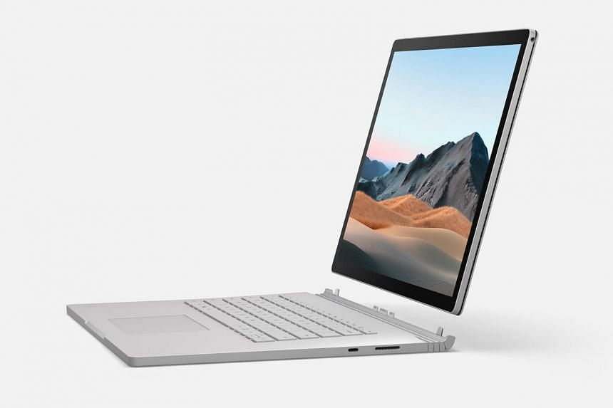 As a tablet, the Surface Book 3 weighs around a handy 700g for its 13.5-inch screen size.