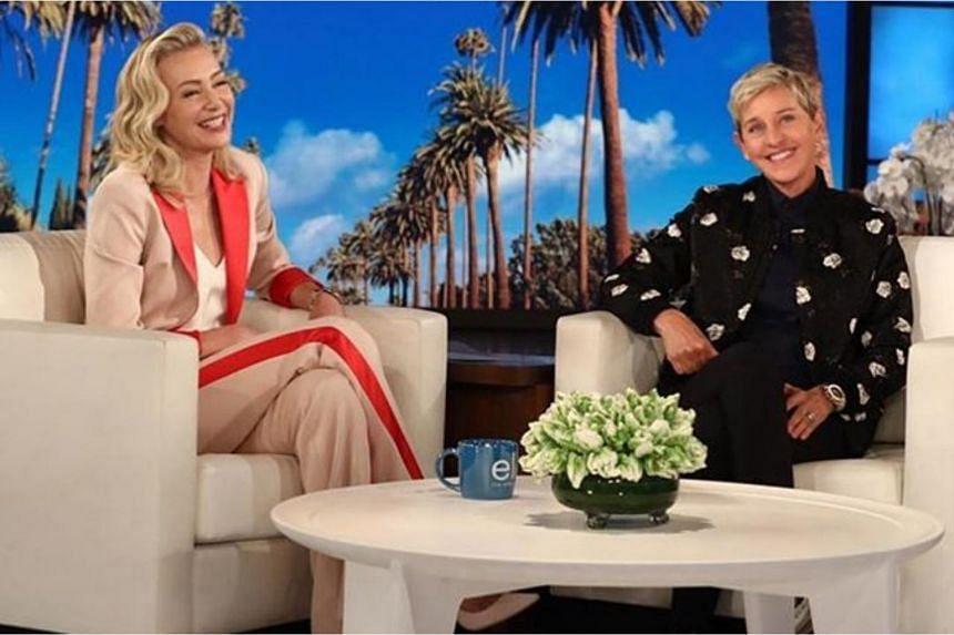Actress Portia de Rossi has been married to Ellen DeGeneres for 12 years.