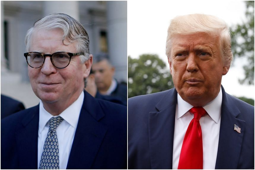 Manhattan District Attorney Cyrus Vance (left) is seeking to dismiss US President Donald Trump's latest challenge to the subpoena for eight years of personal and corporate tax records.