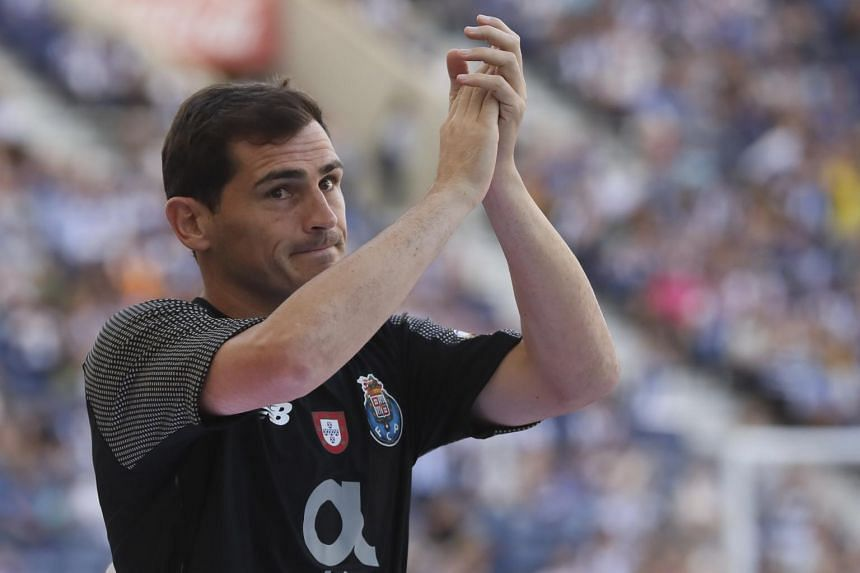 Iker Casillas had been sidelined for more than a year with a heart problem.